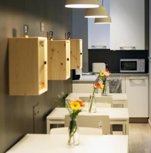A kitchen or kitchenette at B&B Lo Studio
