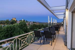 Un balcón o terraza de Pousada de Bragança - Sao Bartolomeu