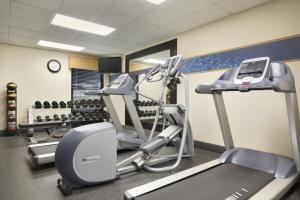 The fitness center and/or fitness facilities at Hampton Inn Orlando-Convention Center International Drive Area