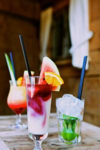 Getränke in der Unterkunft Hotel & Restaurant Grüner Baum - Die Grüne Oase Am Feldberg