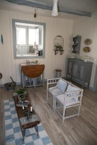 Zona de estar de Casa Jacinta con jacuzzi