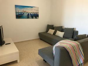Zona de estar de Apartamento PortSaplaya
