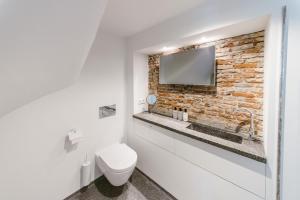 Een badkamer bij Prinsenhof Suite