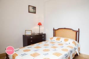 Cama o camas de una habitación en Casa Laurel