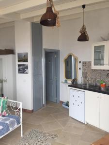 Una cocina o zona de cocina en El Laurel