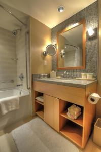 A bathroom at River Rock Casino Hotel