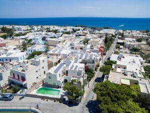 Άποψη από ψηλά του Ifestia Hotel
