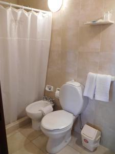 A bathroom at La Posada