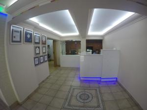 The lobby or reception area at Asty Hotel