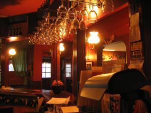Majoituspaikan Hotelli Sandels ravintola tai vastaava paikka