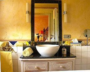 Ein Badezimmer in der Unterkunft Haus Silbermond