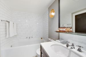 A bathroom at Mayfair Hotel