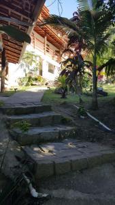 A garden outside Pousada Sol da Trindade