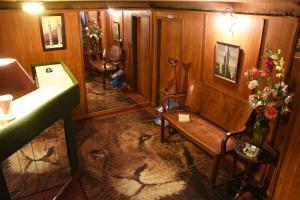 A bathroom at Splendido Hotel