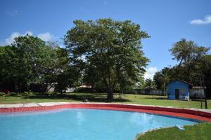 The swimming pool at or near Pousada Holístico Marajó