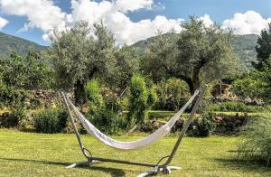 Сад в Hotel Rural Hosteria Fontivieja