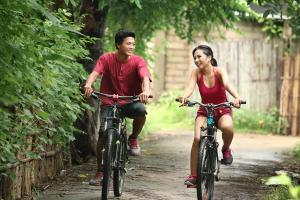 Biking at or in the surroundings of Samata Village Gili Air