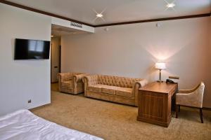 Гостиная зона в Hotel Retro