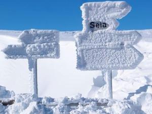 Apartamento Senadomum during the winter