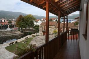 A balcony or terrace at Casa de Sao Cristovao