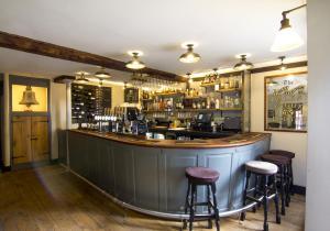 The lounge or bar area at Church Inn