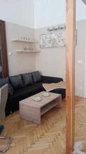 A seating area at Jilská 449/14