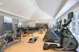 The fitness centre and/or fitness facilities at Hyatt Ziva Rose Hall - All Inclusive