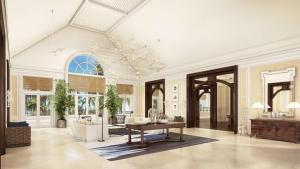 The lobby or reception area at Hyatt Ziva Rose Hall - All Inclusive