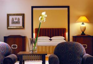 A bed or beds in a room at Hyatt Regency Thessaloniki