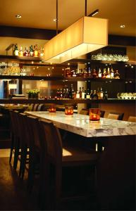 The lounge or bar area at Park Hyatt Sydney