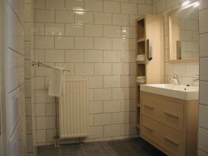 Een badkamer bij Hotel Studio Bosch Duin Strand