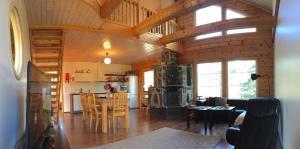 Majoituspaikan Lapland Villa ravintola tai vastaava paikka