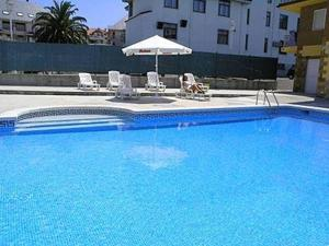 The swimming pool at or near Hotel Los Nogales