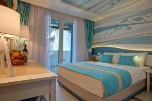 Voodi või voodid majutusasutuse Hotel Aleksandar toas