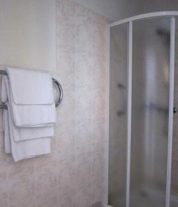 A bathroom at Hotel Vilmaja