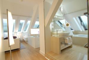 Ein Badezimmer in der Unterkunft Hotel Ketschauer Hof