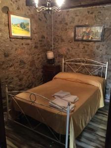 Letto o letti in una camera di L'Antico Sogno Guest House