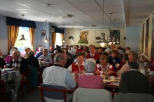 En restaurang eller annat matställe på Visitor Stugby