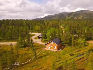 Majoituspaikan Lapland Villa kuva ylhäältä päin
