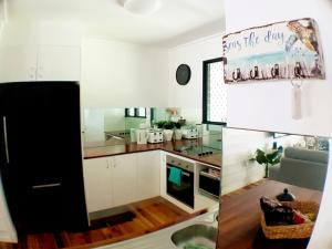 A kitchen or kitchenette at Great Northern Beach House
