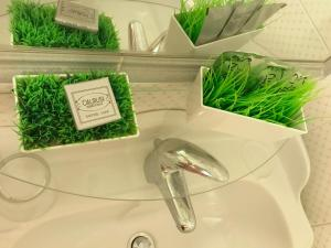 A bathroom at Il Labirinto B&B