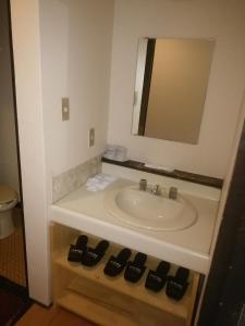 ロイヤルホテル河口湖にあるバスルーム