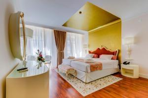 Cama o camas de una habitación en Hotel Borges Chiado