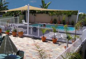 The swimming pool at or near Waterview Luxury Apartments