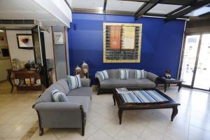 A seating area at Hotel-Apartamentos Andorra