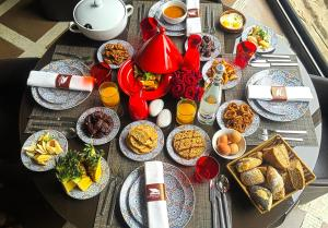 Breakfast options available to guests at Hivernage Hotel & Spa