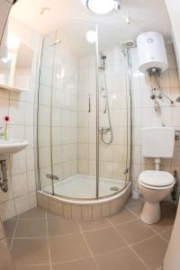A bathroom at Bauer Schmidt Weilerbach