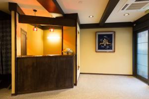 The lobby or reception area at Matsubaya Ryokan