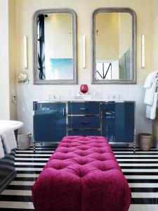 A bathroom at The Silo Hotel