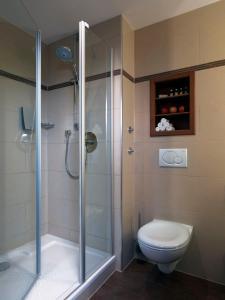 A bathroom at Platzl Hotel - Superior
